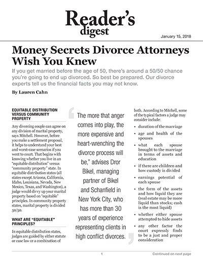 Money Secrets Divorce Attorneys Wish You Knew