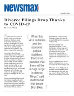 Divorce Filings Drop Thanks to COVID-19