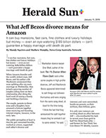 What Jeff Bezos divorce means for Amazon