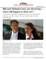 Bill and Melinda Gates are divorcing—what will happen to their art?